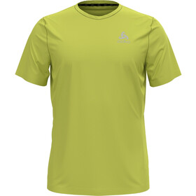 Odlo Element Light Print Crew Neck SS T-Shirt Men limeade